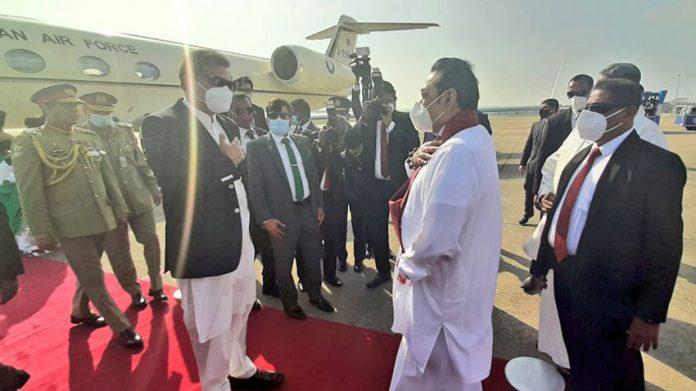 IMRAN KHAN IN COLOMBO